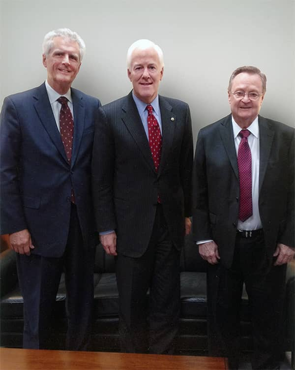 U.S. Senator John Cornyn Receives Tri Global Energy's 2019 Wind Leadership Award