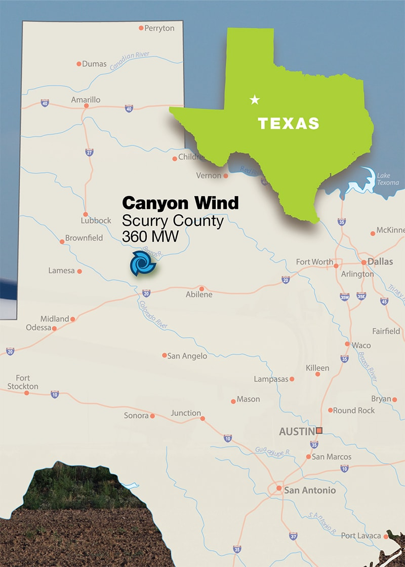 Tri Global Energy Sells 360 MW Texas Wind Project to Silverpeak