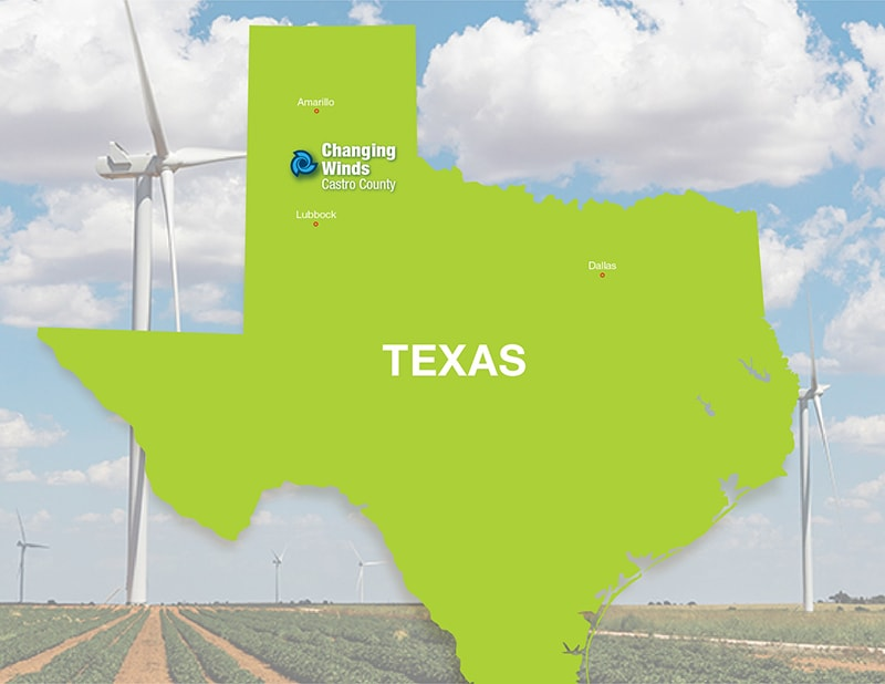 Tri Global Energy Announces Sale to Invenergy of 231 MW Texas Panhandle Wind Project